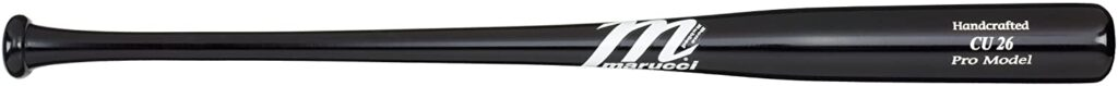 Marucci Pro Maple Black Wood Youth Bat