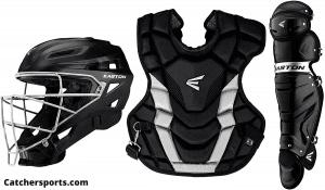 EASTON GAMETIME Baseball Catchers Equipment Box Set, 2021